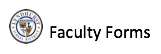 Faculty Forms