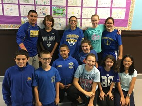 Wear blue to Stomp out Bullying