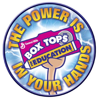 Box Top for Education power in your hands Box top in hand