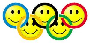 Happy Face Olympic circles