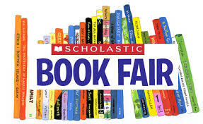 Books and book fair sign