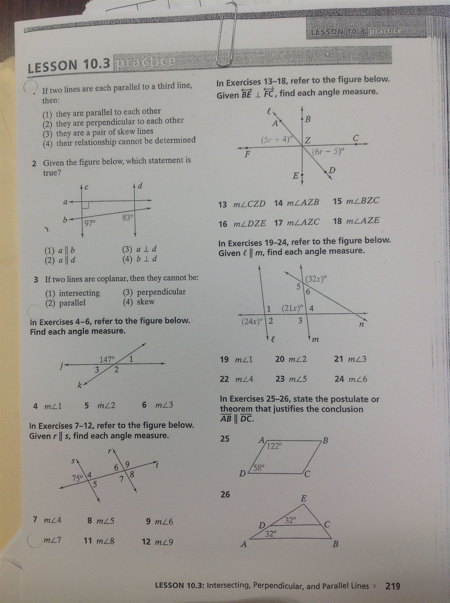 Angle Relationships Worksheet Day 2 Answers - Worksheets for Kids ...